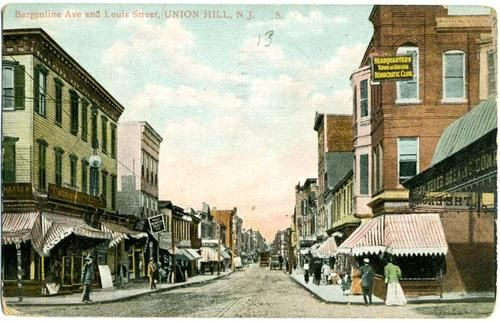 Bergenline Avenue At Louis Street Union Hill Union City Nj 1913 Union City Union Hill City