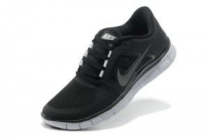 6c337240224 Nike Free Run 5.0 Unisex Dames/Heren Zwart Wit | nikeleopard ...
