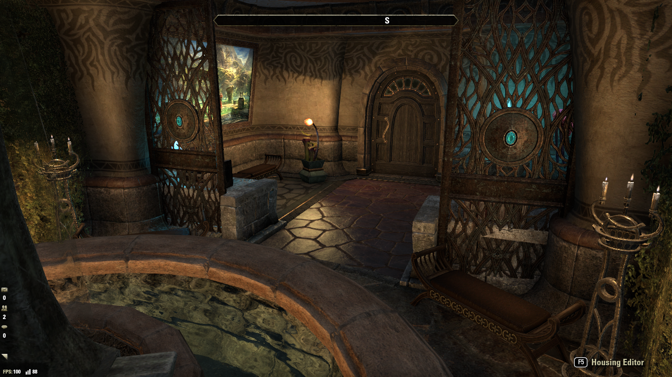 Penthouse In Vivec City Turned Into A Serene Shrine Eso By Coco