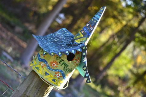 Serve With Gladness: 2 by The Weathered Nest | The Weathered Nest Custom Bird Houses