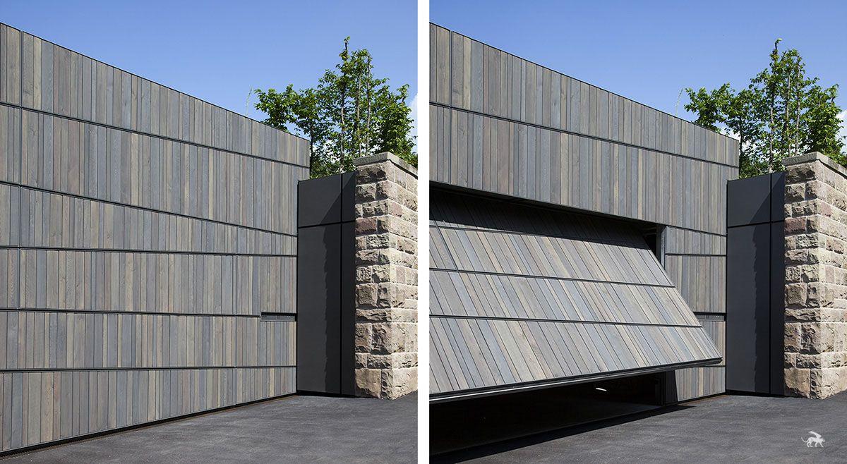 Hidden Garage Vista House Building Design Architecture