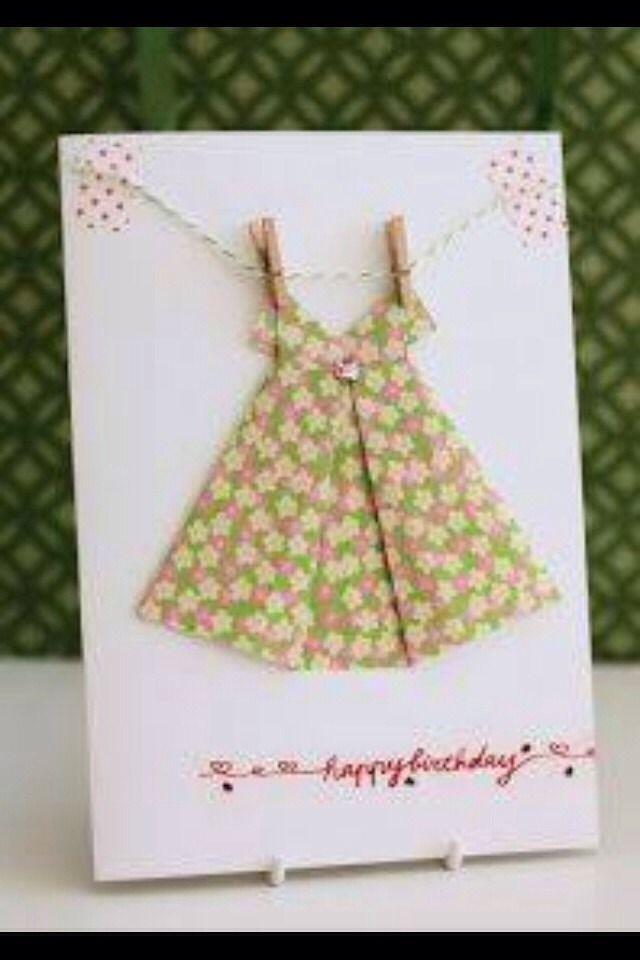 Diy Pretty Birthday Card Cards Pinterest Origami Cards