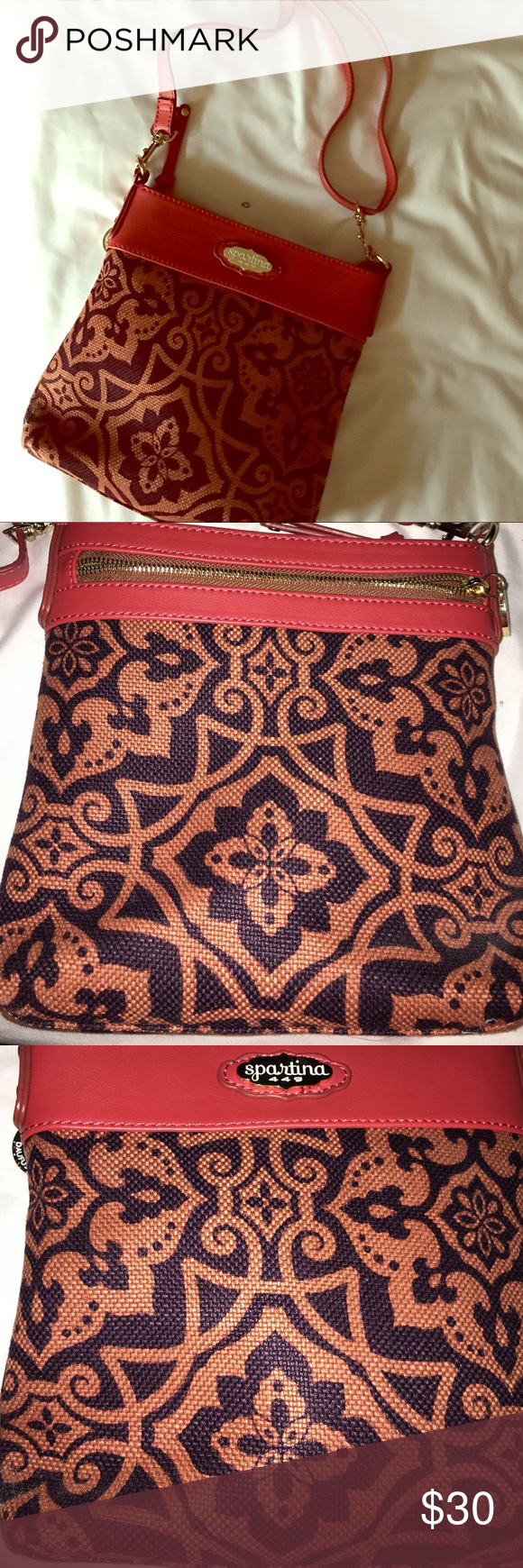 Spartina Crossbody Purse Spartina Cross body bag!  Bought new never used! Bags Crossbody Bags