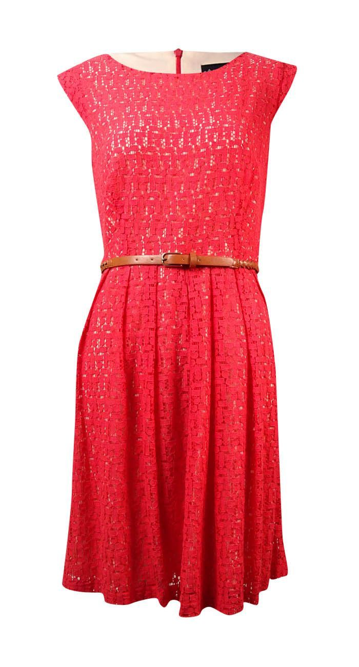 Connected Women's Sleeveless Lace Dress