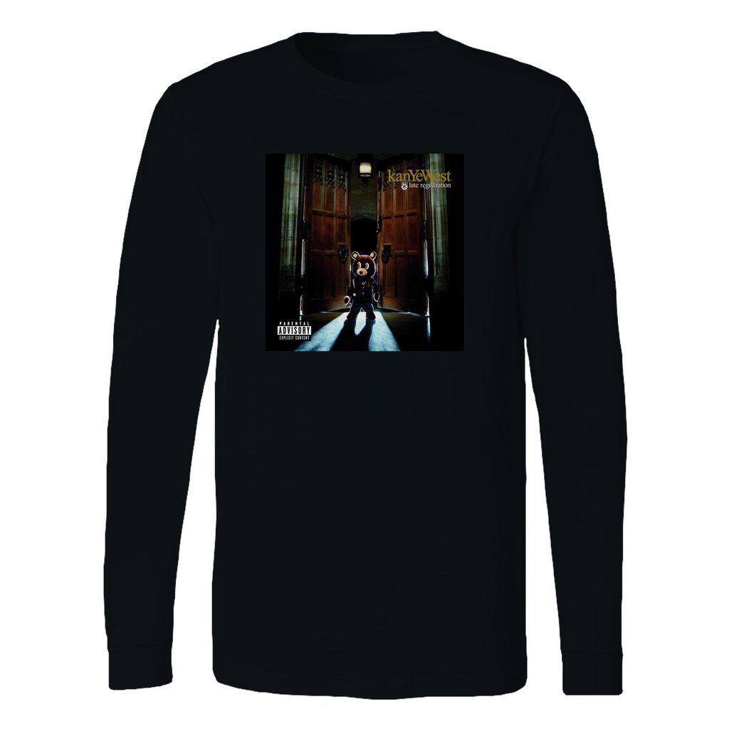 Kanye West Late Registration Long Sleeve T Shirt