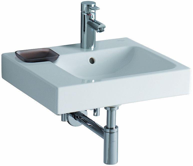 asymmetrical washbasin 50 left – Washbasins - Pozzi Ginori | Bath ...