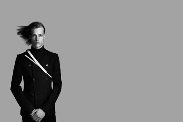 f6438356e2dc Dior Homme Photo  Richard Avedon Model  Eric van Nostrand