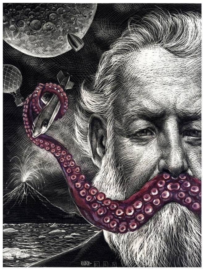 Steampunk Tendencies Jules Verne Steampunk Tendencies Portrait