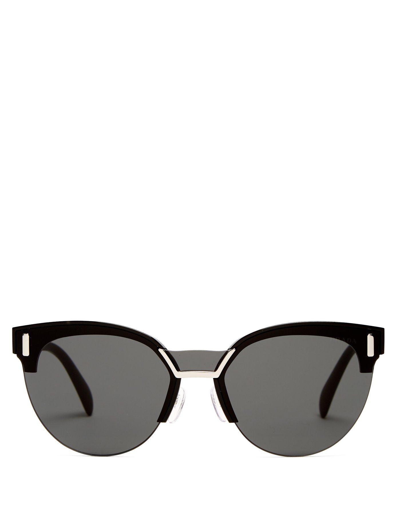 08175203d21 Prada Round-frame acetate sunglasses