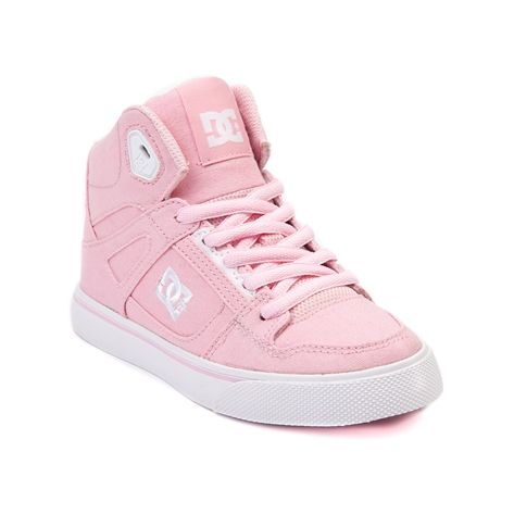 4d6d1619d99 Shop for YouthTween DC Spartan Hi Skate Shoe in Light Pink at Journeys Kidz.  Shop today for the hottest brands in mens shoes and womens shoes at ...
