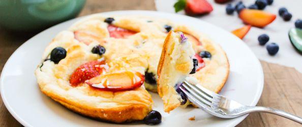 Honey Cloud Pancakes   Things we make