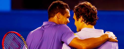 Roger Federer #ausopen #AO13 #tenis #tennis @JugamosTenis