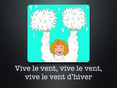 Vive Le Vent A French Version Of Jingle Bells Youtube