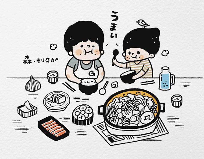 Photo of 小森永 – 描繪幸福【誠品25週年書寫故事展】入選插畫家-小…