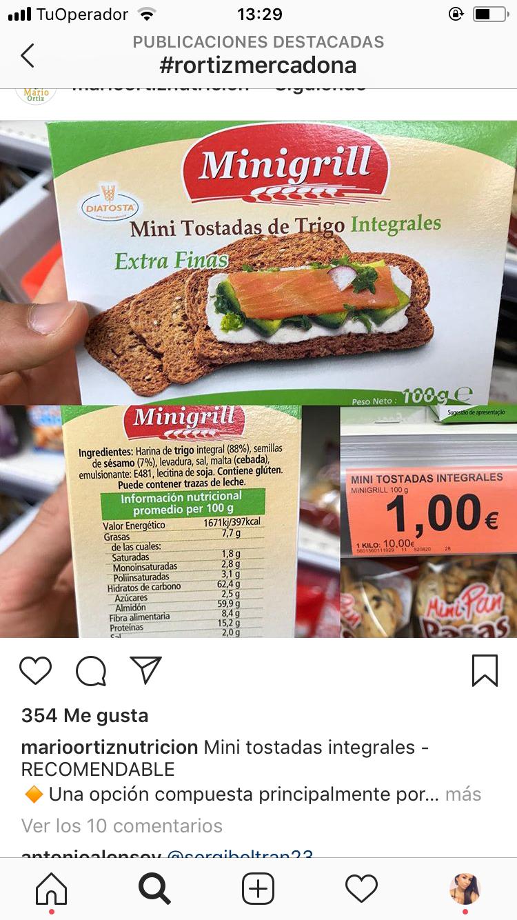 Pin De Cari Albaladejo En Mercadona Productos Saludables Harina De Trigo Integral Nutricional Cebada