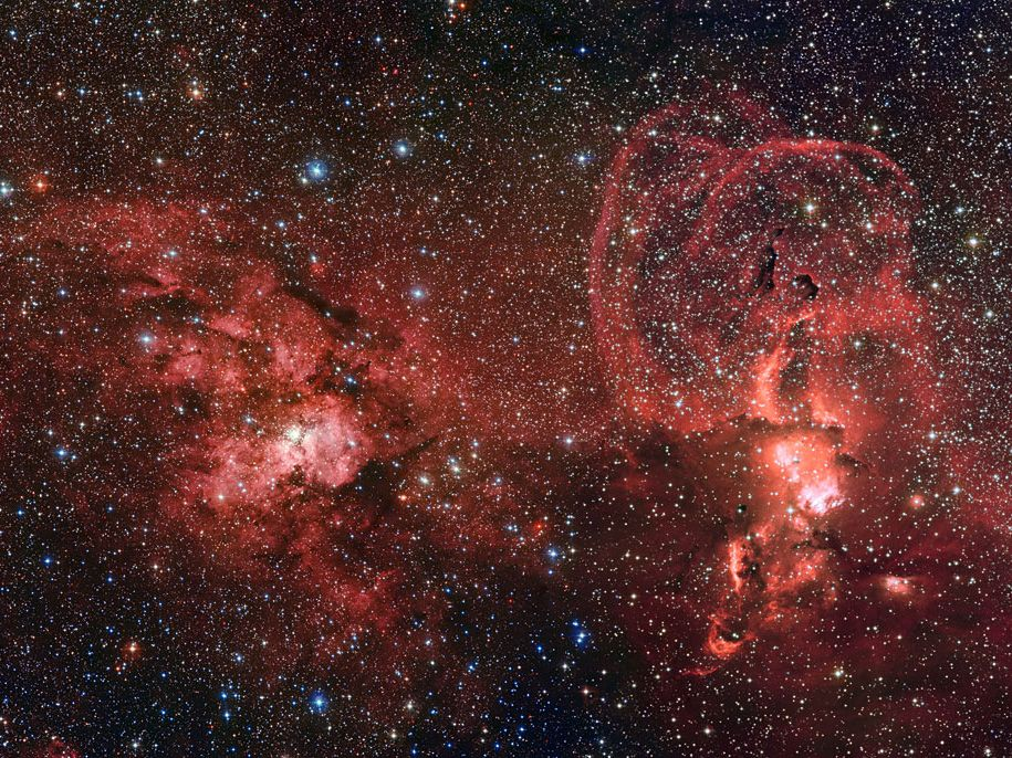 WIRED Space Photo of the Day for August 2014 | August 20, 2014: Spectacular Landscape of Star Formation  ESO  | WIRED.com