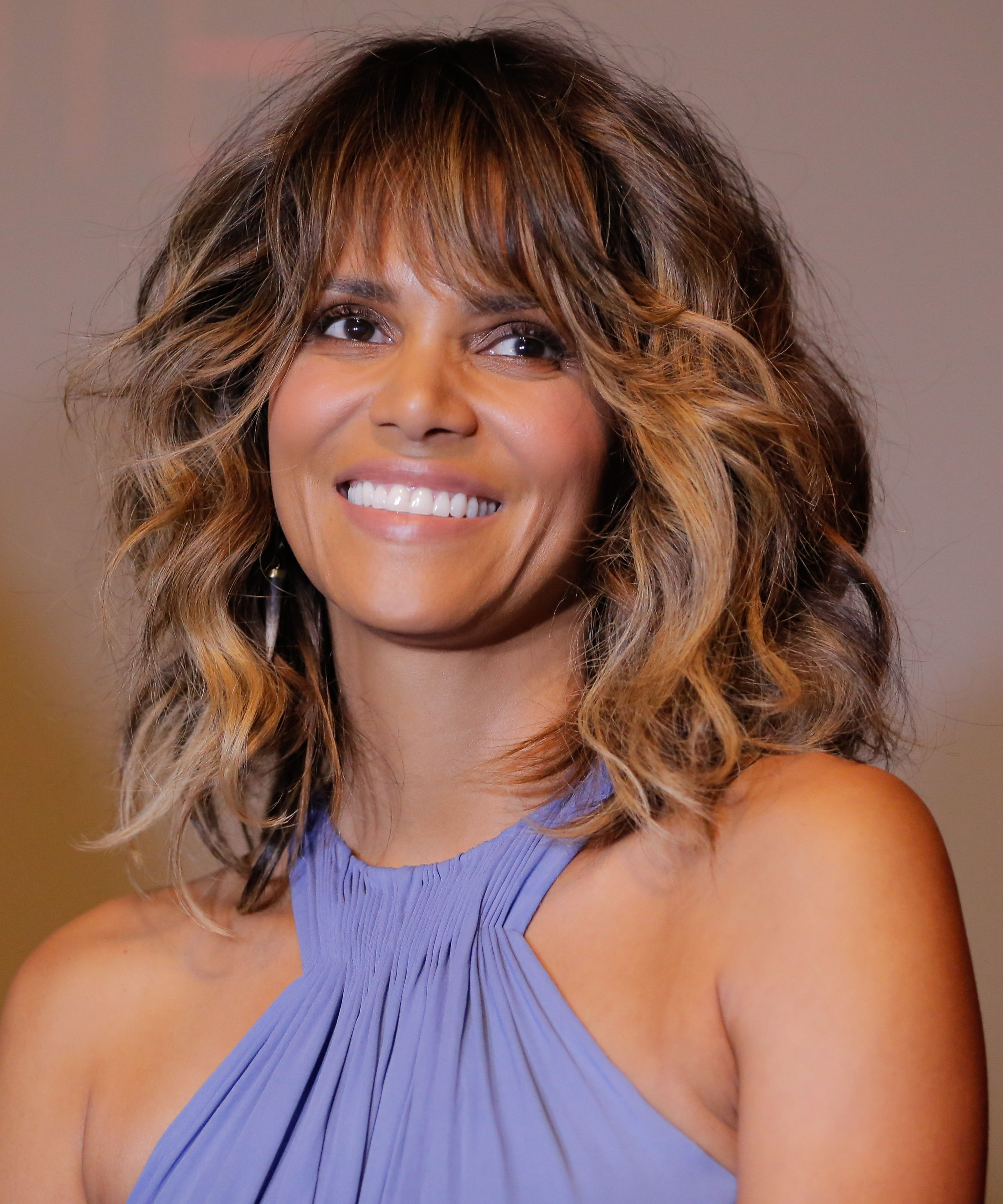 halle berry's badass new hairstyle | makeup and hair | halle