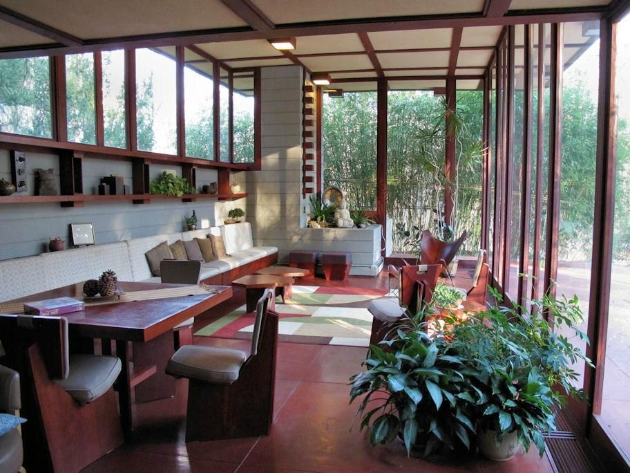 The Louis Penfield House Architecture Frank Lloyd Wright Homes Mid Century House