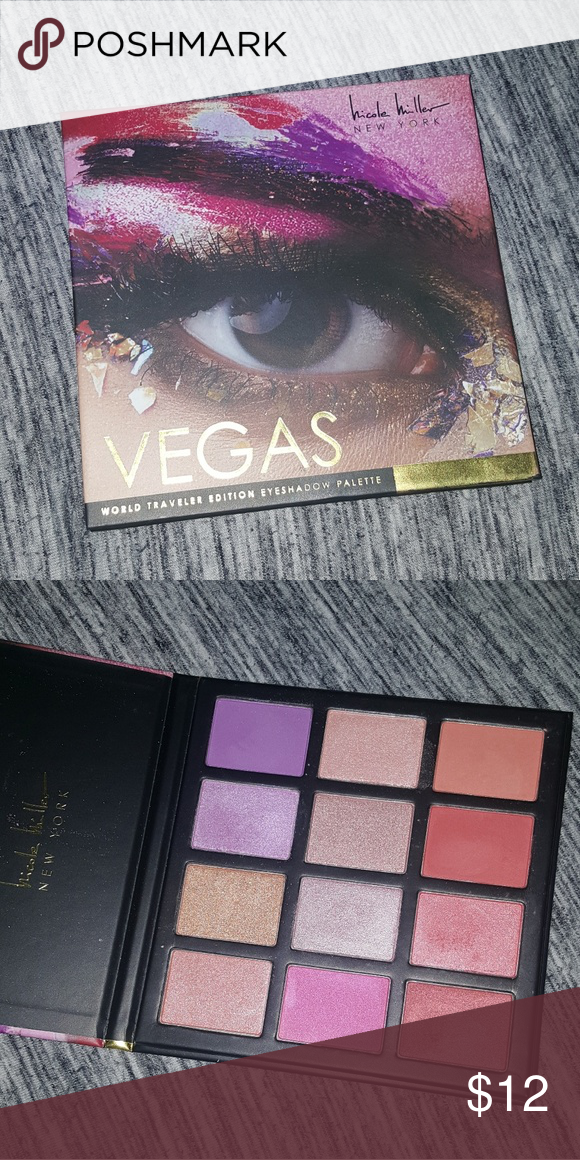09144aa70e5e6 Nicole Miller 💎 Vegas Palette Swatched only. I will also throw in a ...