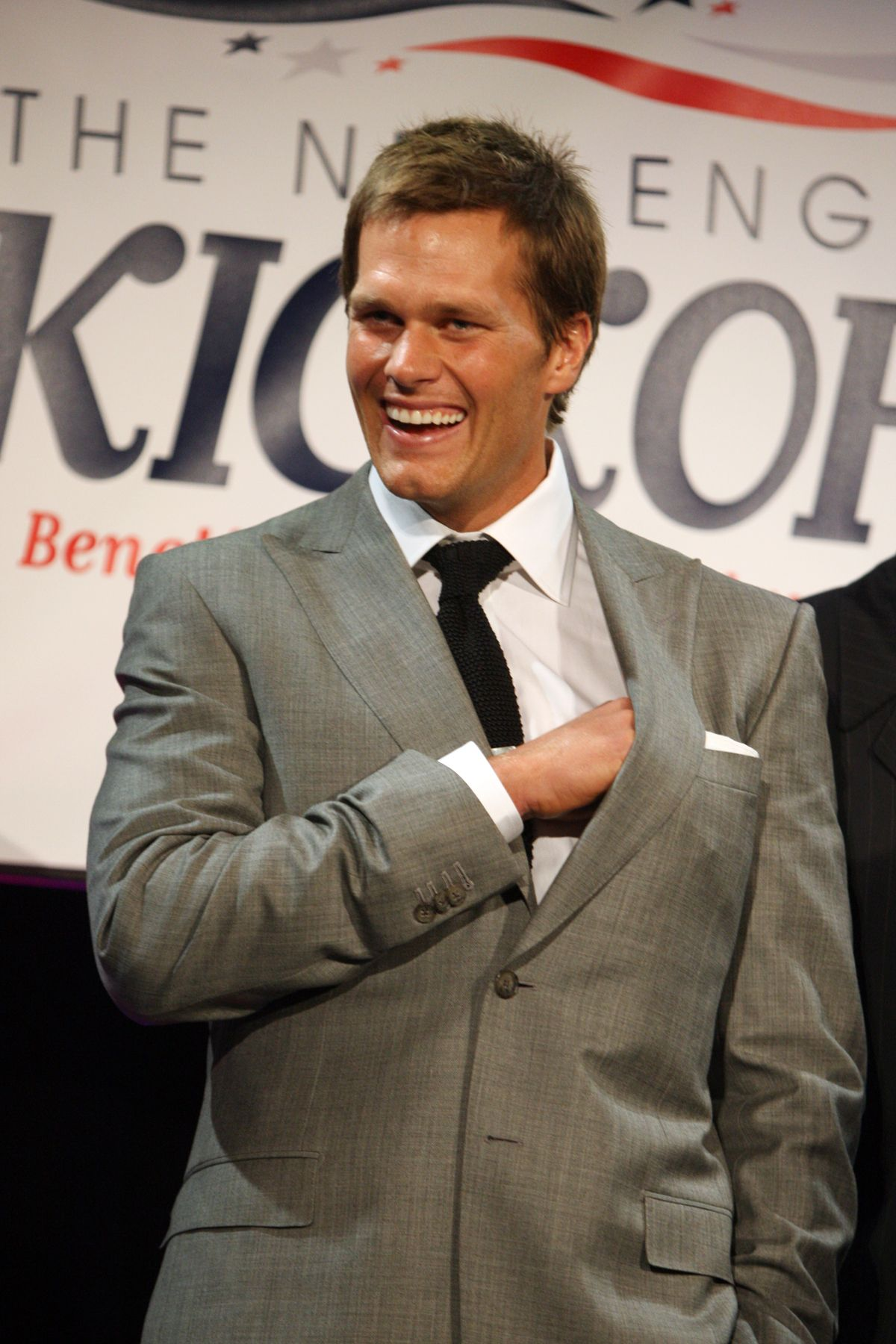 Brady At The Annual Kickoff Gala Tom Brady New England Patriots Patriots Football