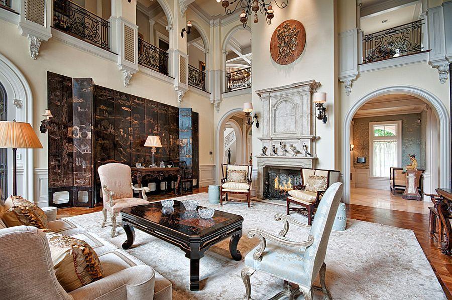 Image result for garden hallway | Victorian living room ...