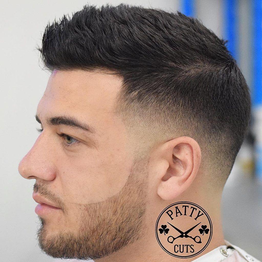 pin on guy's hair