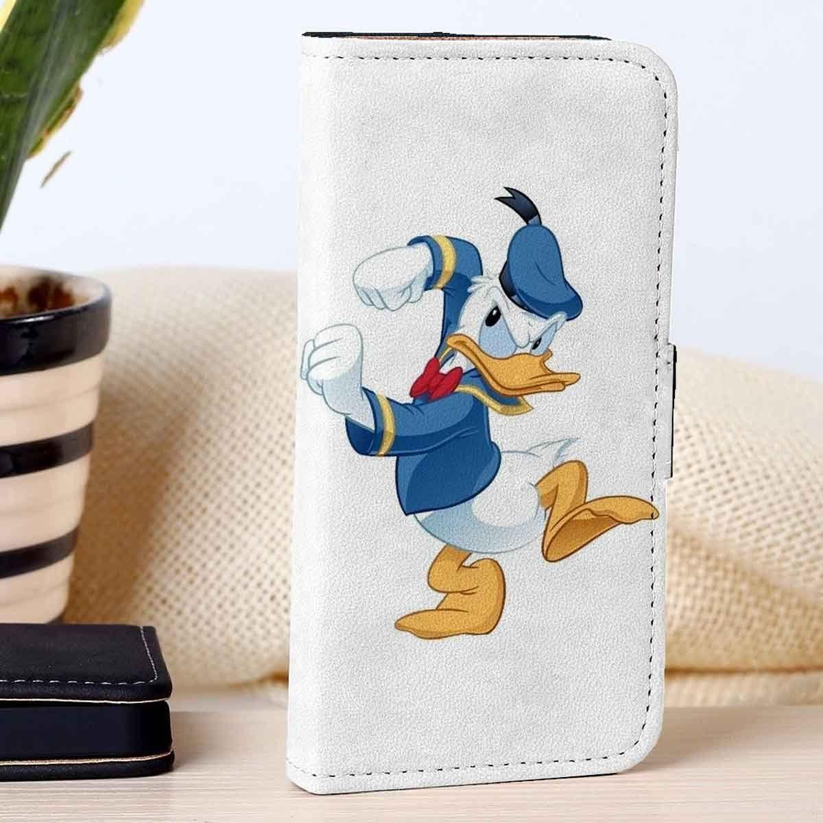 Donald ducks disney movie custom wallet case for