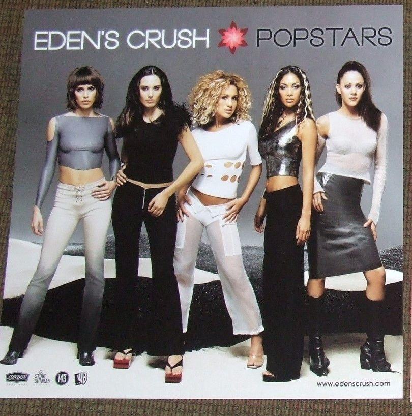 Eden's Crush - Album Cover Poster Flat