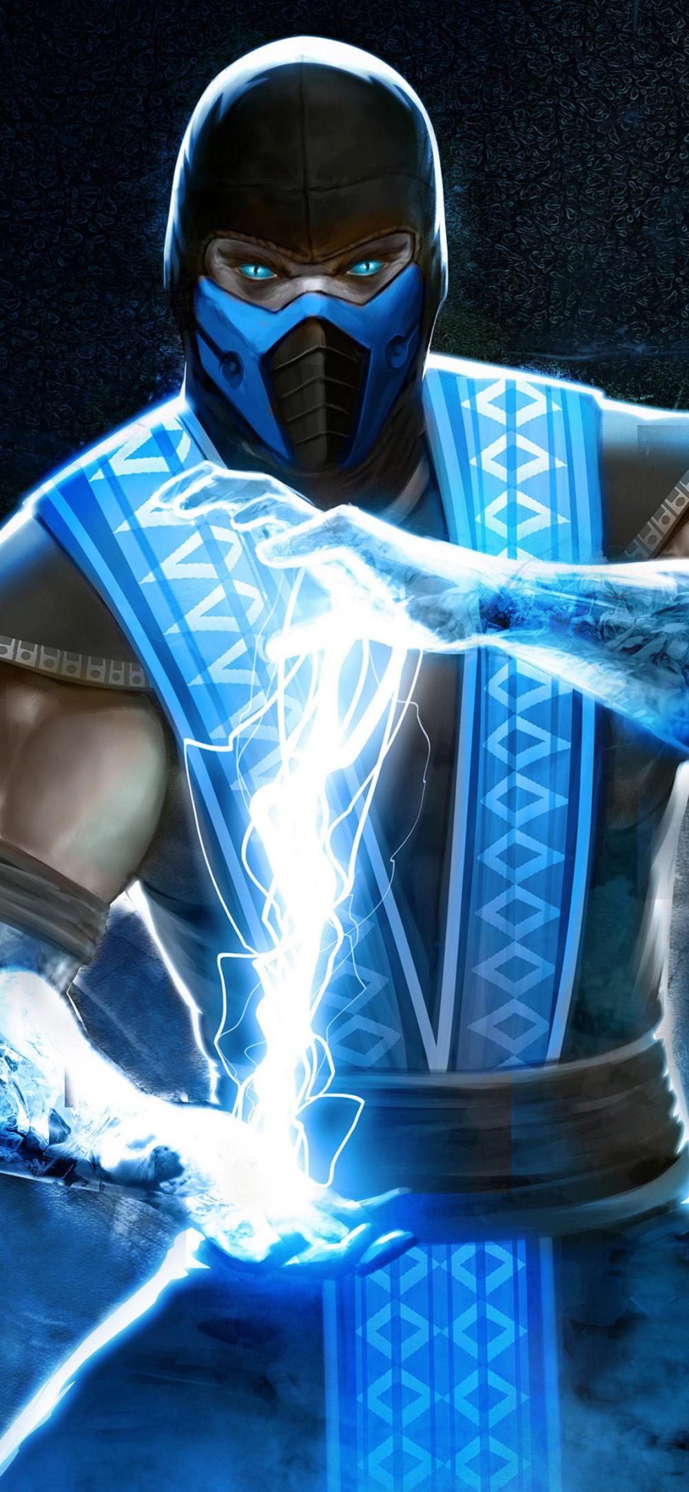 Sub Zero In Mortal Kombat Sub Zero Mortal Kombat Mortal Kombat Art Mortal Kombat X Wallpapers