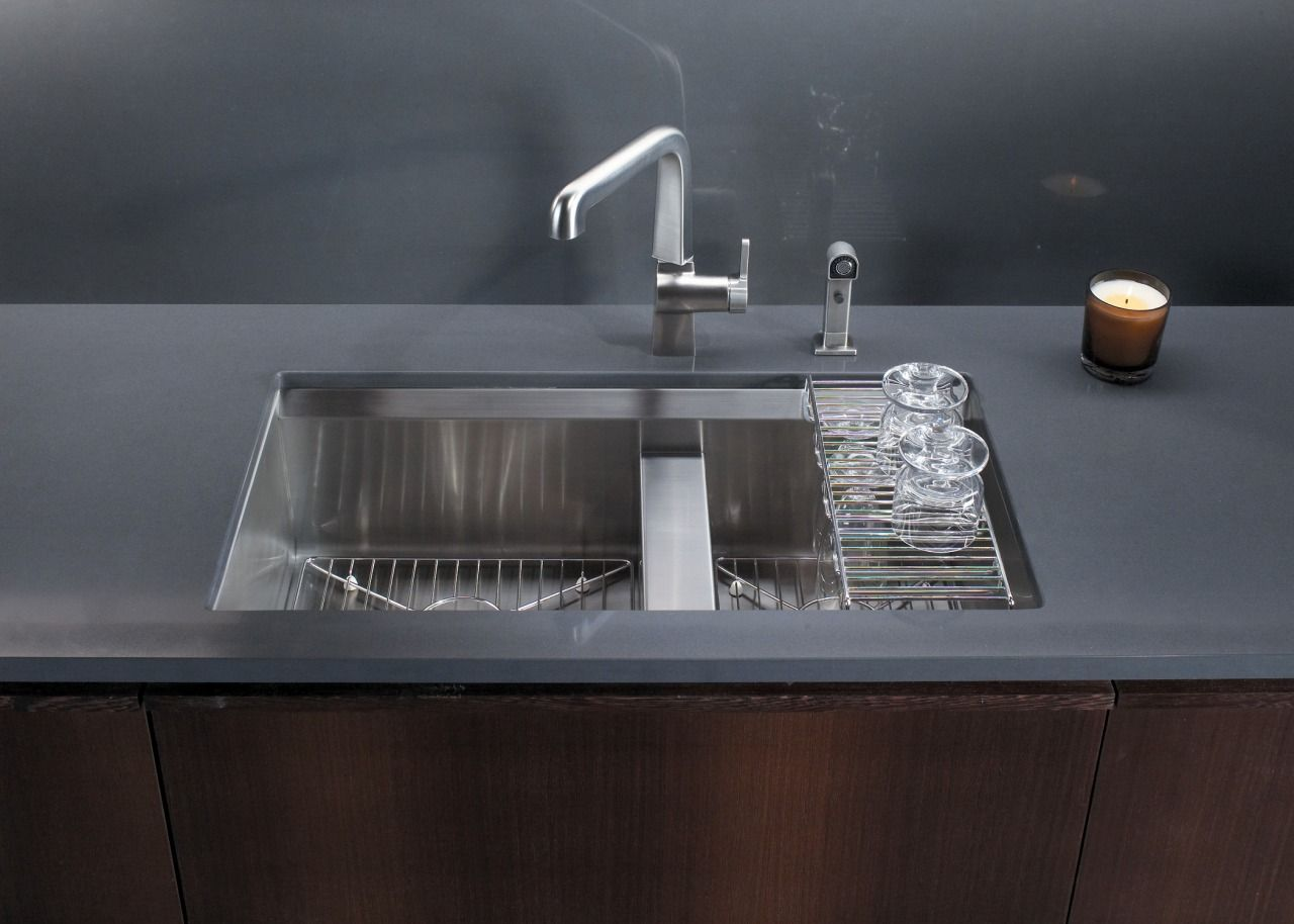 Kohler Stainless Steel Kitchen Sinks bold ideas from kohler | kitchen sinks | pinterest | posts, trough