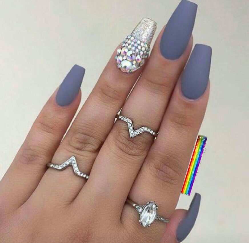 Pin by Andreea on Unghii cu gel mari | New nail trends