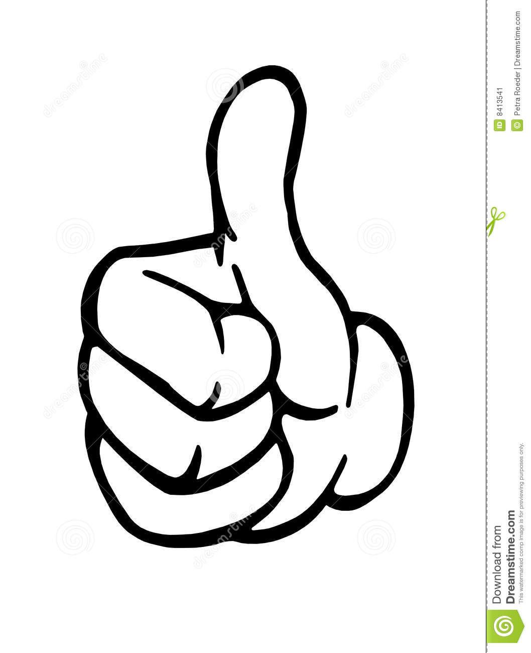Thumbs Up Hand Clipart