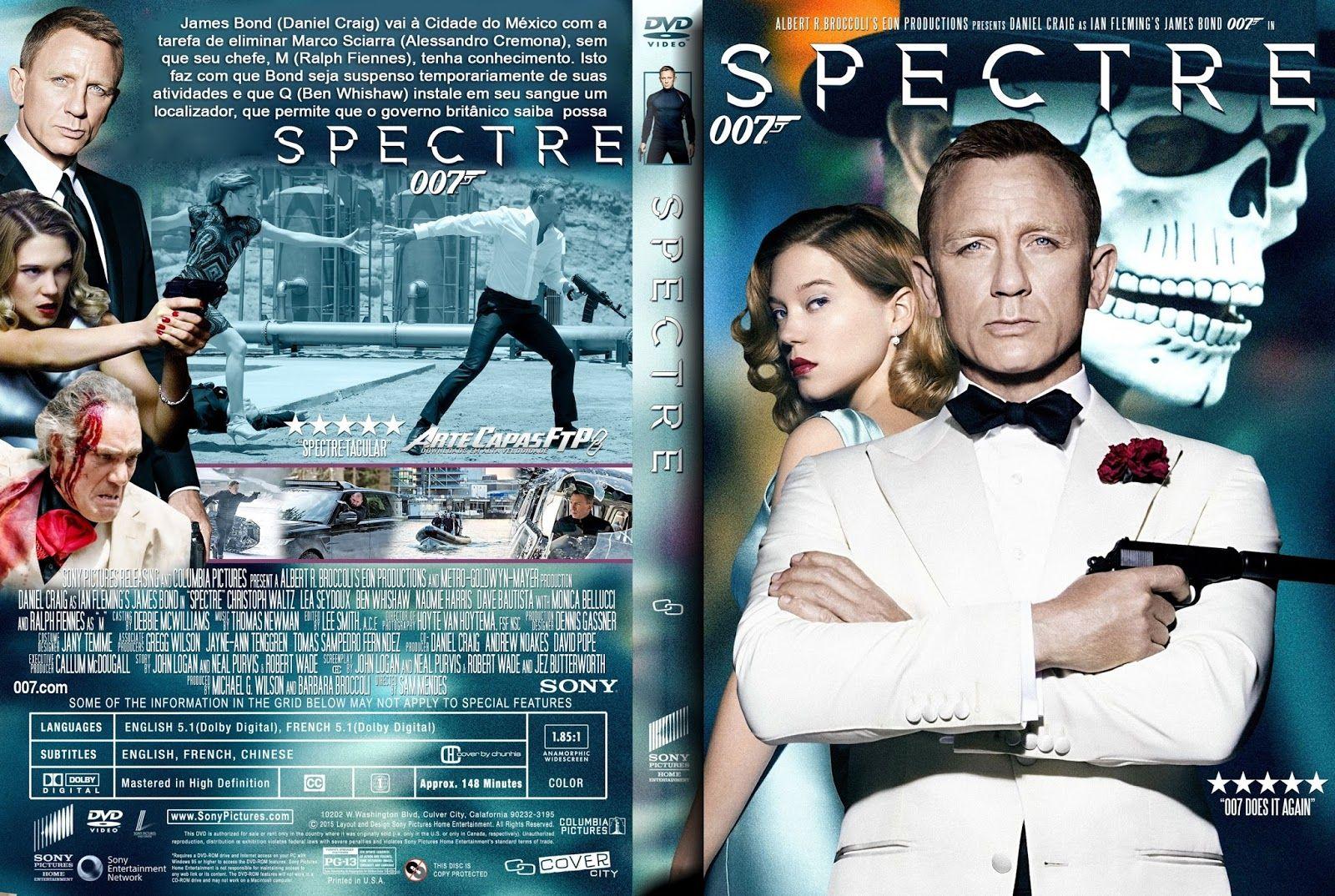 007 Contra Spectre Meus Dvd S Pinterest