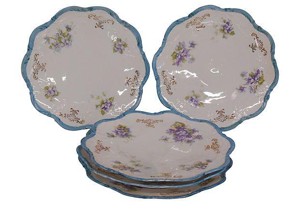 Austrian Plates, Set of 5