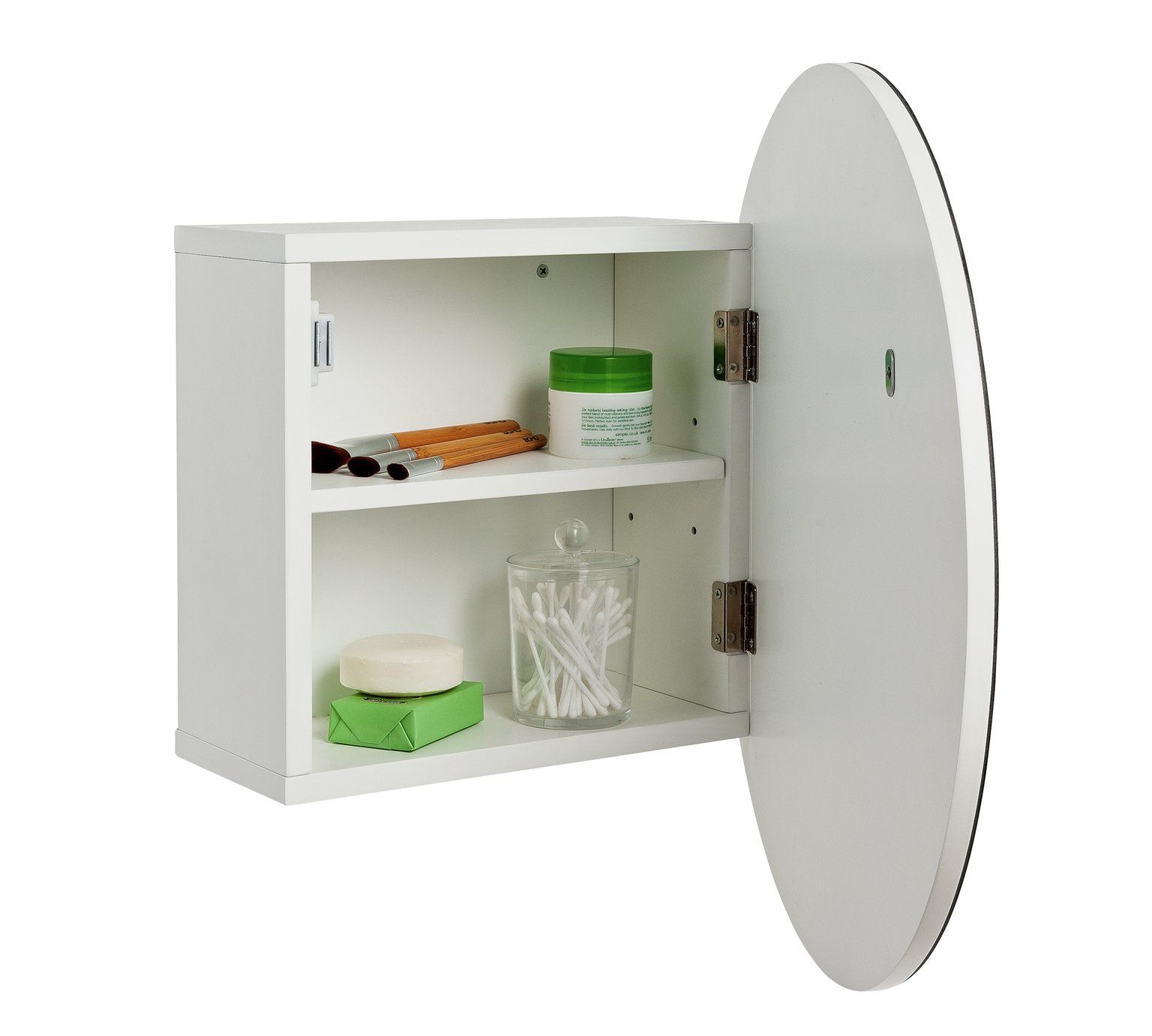 Buy Argos Home Circular Mirrored Bathroom Cabinet Bathroom Cabinets Argos Round Mirror Bathroom Argos Home Bathroom Mirror Cabinet
