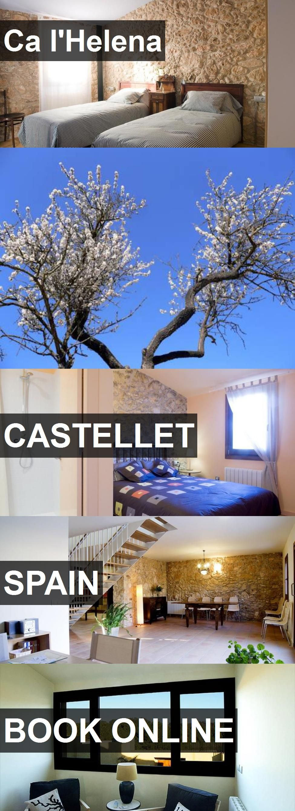 Hotel Ca l'Helena in Castellet, Spain. For more