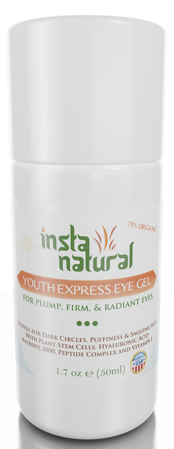InstaNatural Youth Express Eye Gel Review Under Eye