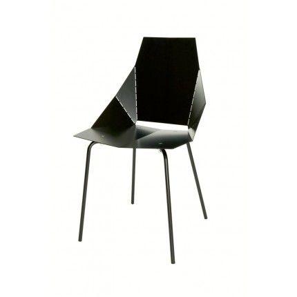 dining chair - blue dot