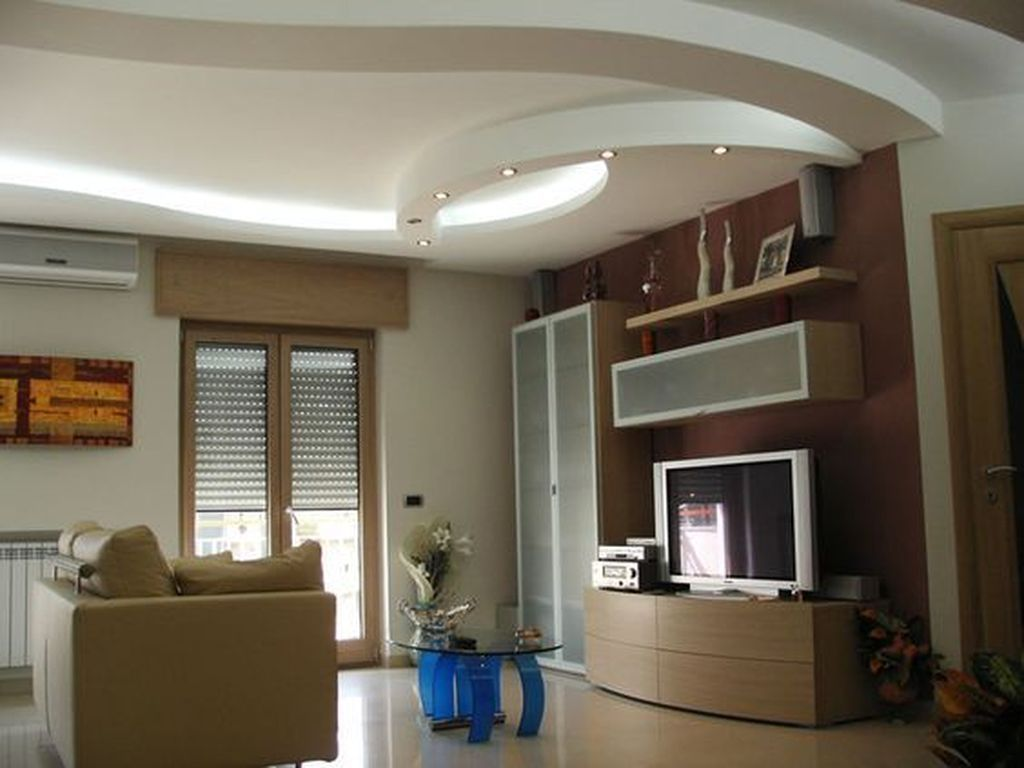 44 Relaxing Drywall Designs Ideas For Living Room False Ceiling