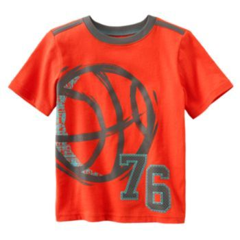 Jumping Beans Basketball Tee - Boys 4-7x