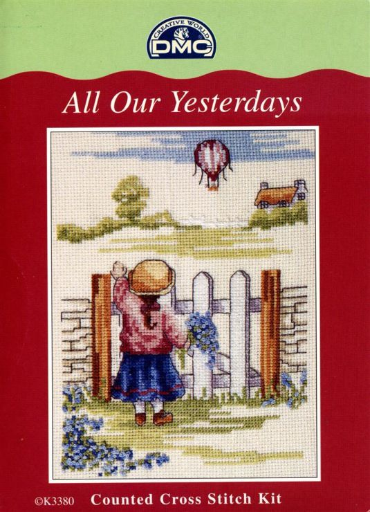 All Our Yesterdays Numbers Sampler Counted Cross Stitch Kit