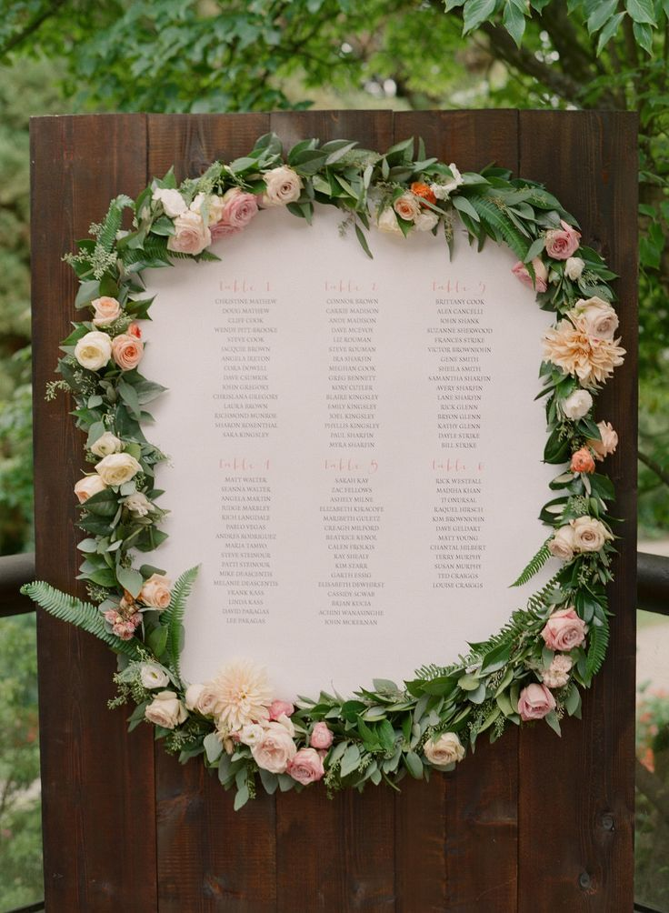 30 most popular seating chart ideas for your wedding day for Wedding mailbox decorating ideas