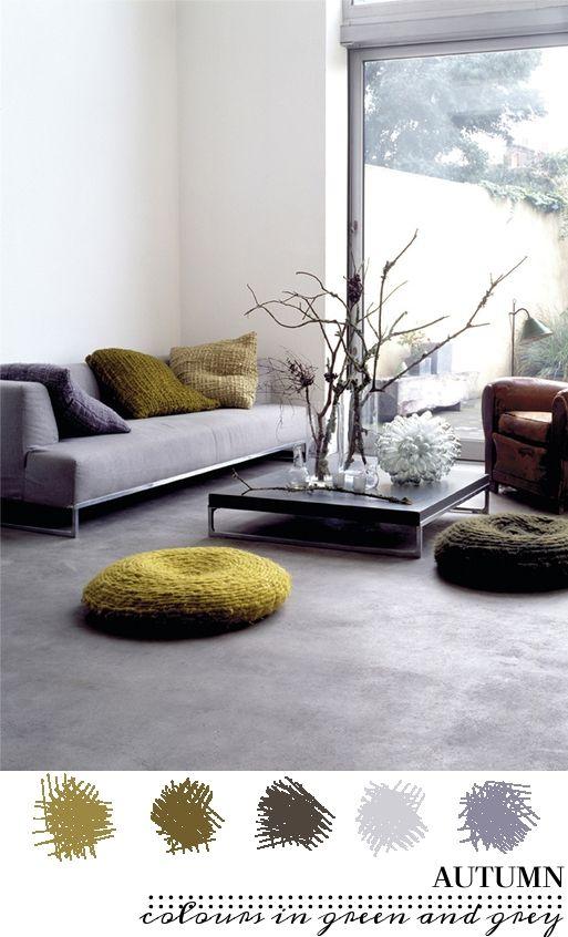 Kleurinspiratie voor je huis | groen met grijs | villa d\'Esta ...