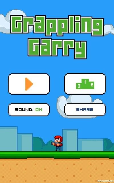 Gappling Garry a new game in the app store  Its free