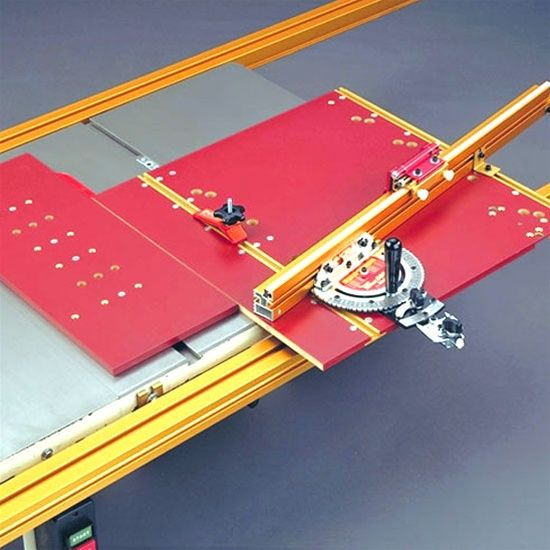 Incra Miter 5000 Table Saw Fence Mitered Table Saw Jigs