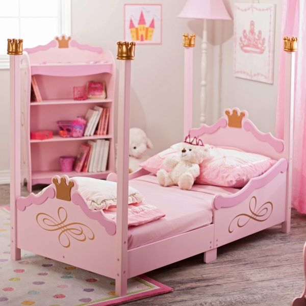 Moderne Kinderbetten kinderbetten designs verspielt interessant gestalt prinzessin
