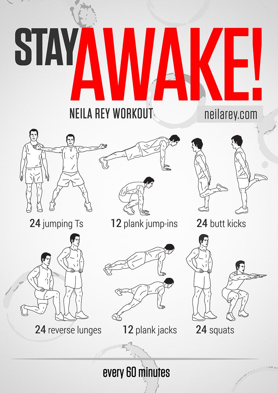 Exceptional Stay Awake Workout / If You Need To Work Late And Stay Focused Exercise Is  A Great Way To Keep Your Body And Mind Online! (for Late Night Study  Sessions) :) Regarding How To Keep Yourself Awake
