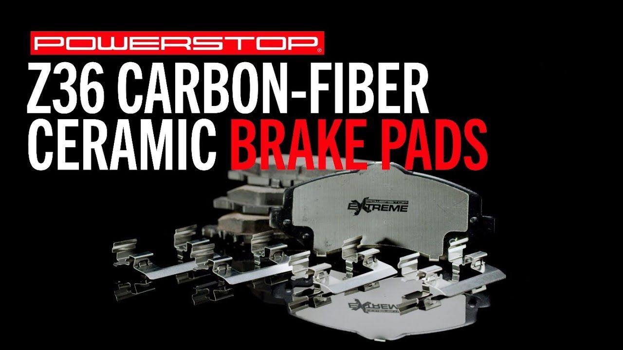 Z36 Truck Tow Brake Pads Powerstop Brake Pads Ceramic Brake Pads Towing