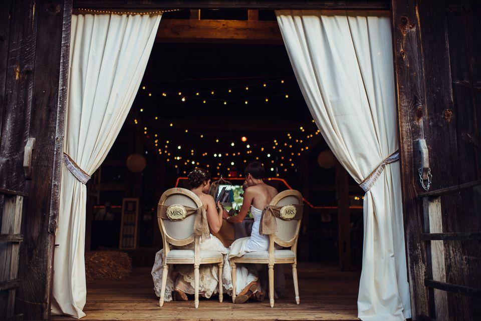 George Weir Barn Wedding Mandi And Tara