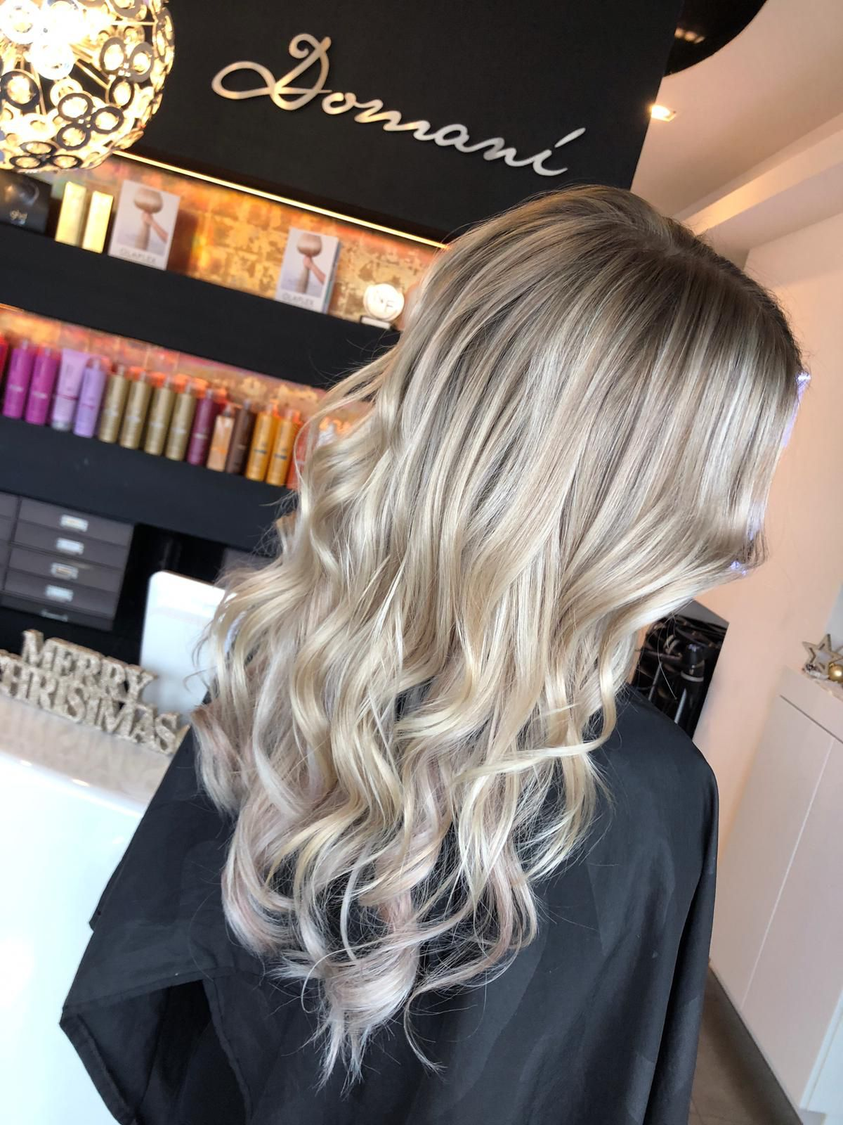 Next Generation Blonde Balayage Ash Blonde Domani Art Of Hair